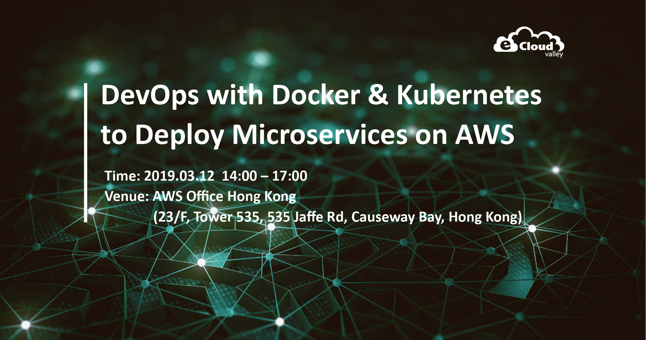 HK - DevOps with Docker containers & Kubernetes to deploy microservices on AWS