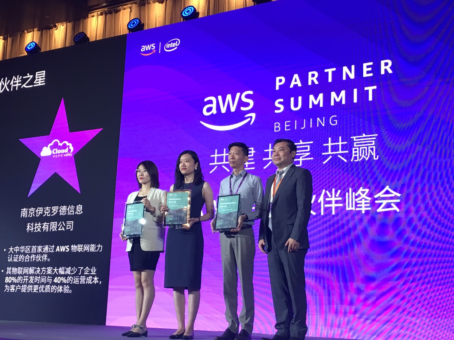 "ECLOUDVALLEY ACHIEVED ""THE TOP APN CONSULTING PARTNER"" IN AWS CHINA –  ECLOUDVALLEY AT YOUR IOT SERVICES"