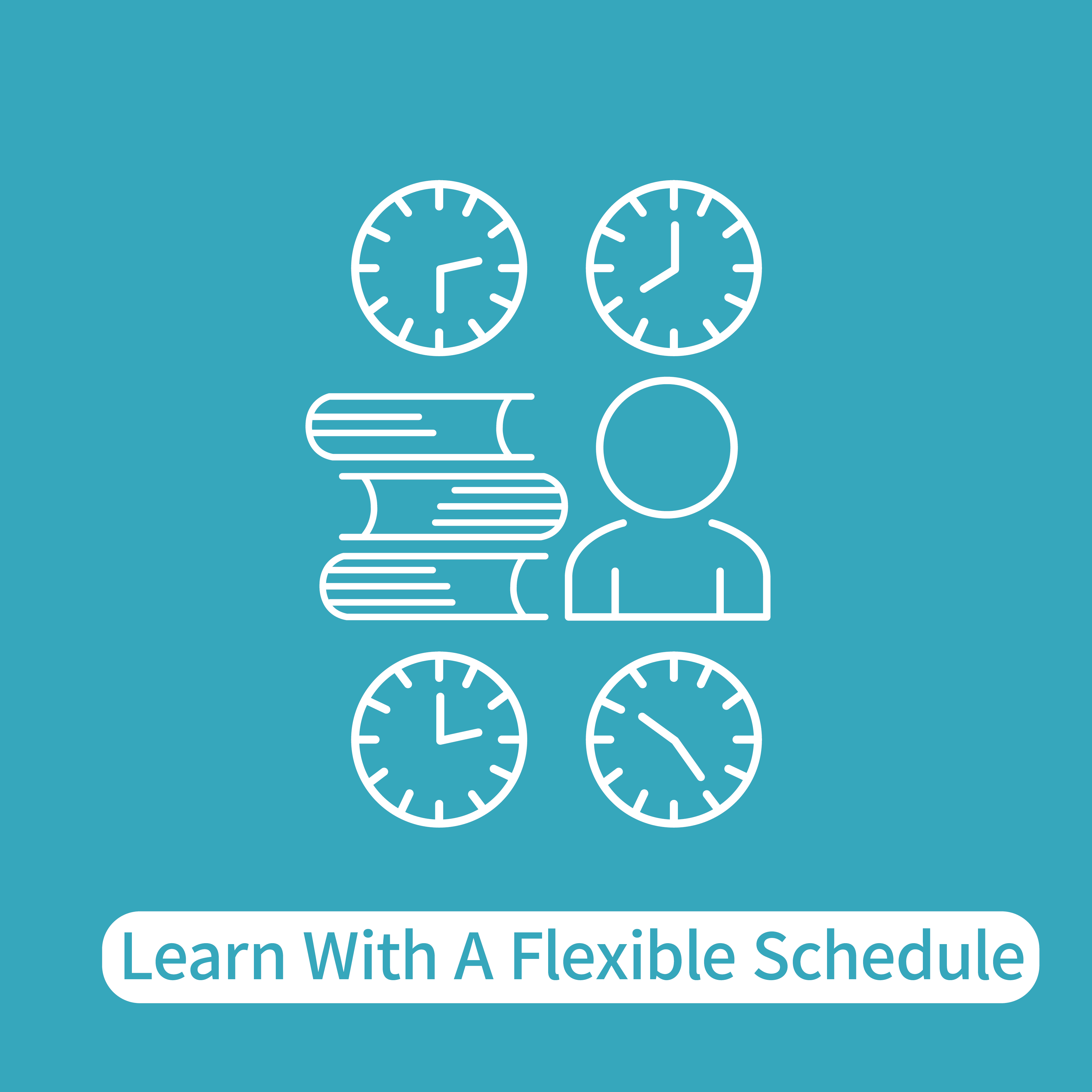 learn with a flexible schedule